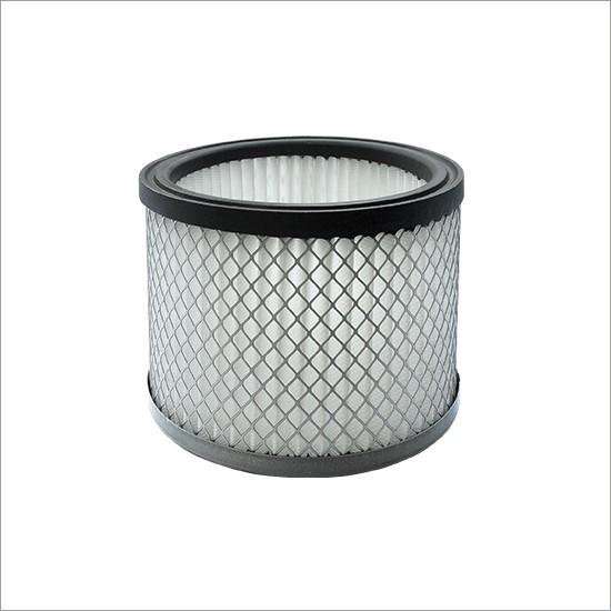 Cartuccia filtro in poliestere per aspiracenere V-Ash 120 con protezione in metallo