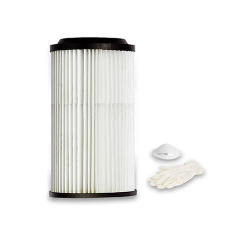 Cartuccia filtro in poliestere lavabile per TS2, TS4, TS105, S100, S150, S250, SC20FC, SX20FC, SC30TC, SB20FE, SB30TE, SB60TE, M03/1, M03/1TF, M04/2, 32U/31, 32U/42, 32U/43, 32U/53, 32U/54 Dimensioni 34 cm H x Ø13,5 cm