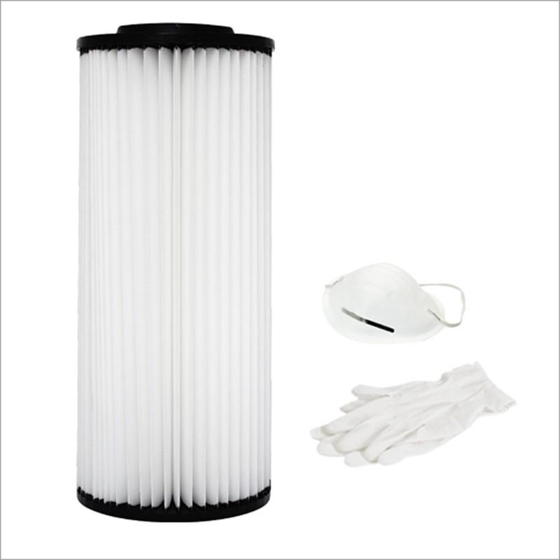 Cartuccia filtro in poliestere lavabile per P350, P450, PX450, SC40TA, SC60TA, SC70TA, SX70TA