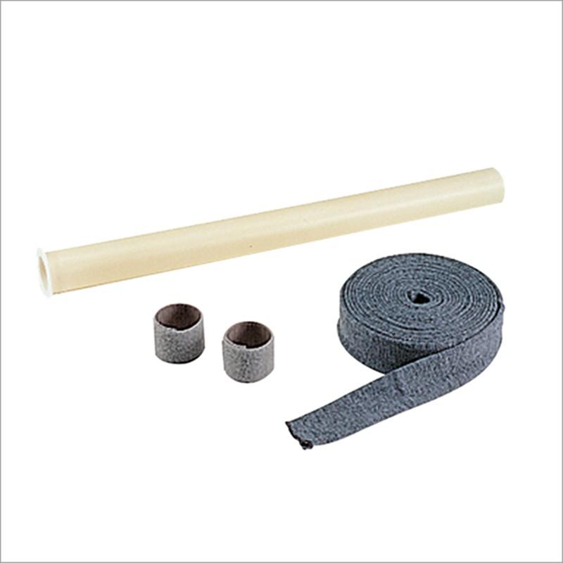 Set completo di rivestimento a protezione tubo flessibile Ø 32 da m 9