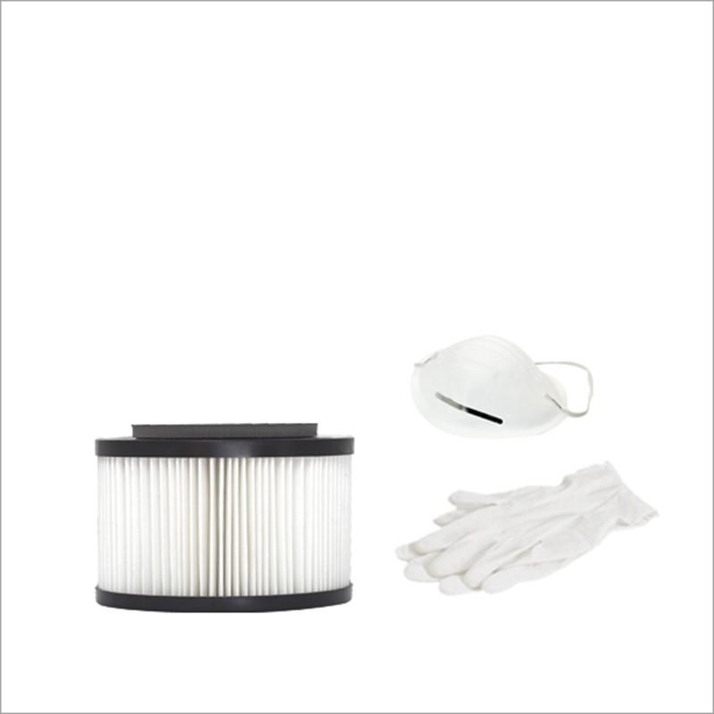 Cartuccia filtro PRECISION in poliestere lavabile per TX1A,TP1A,TP1,TC1. Dimensioni: 10 cm H x Ø16 cm